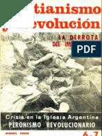 Cristianismo y Revolución nº 6 - 7