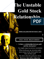 The Unstable Gold-Stock Relationship