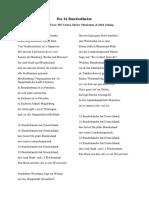 Die 16 Bundesländer (Songtext)