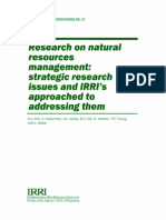 Research on Natural Resources Management