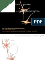 Bioeletrogenese e Sistemas de Neurotrasmissão