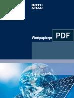 Roth&Rau Wertpapierprospekt 1166243289