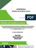 5.Estatistica Medidas Centrais