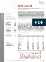 Rapport d'analyse EUROCYCLES (1)