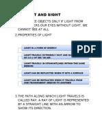 1.7 LIGHT AND SIGHT
