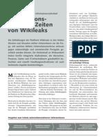 CC FRC_Informationssicherheit - Informationsschutz in Zeiten von Wikileaks