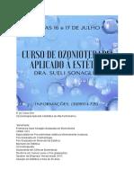 Curso Ozonioterapia Para Estética