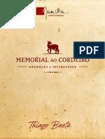 6 Memorial ao Cordeiro, adoração e intercessão - Thiago Baeta
