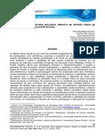 Educação Física Adaptada Inclusiva Impacto Na Aptidão Física de Pessoas Com Deficiência Intelectual