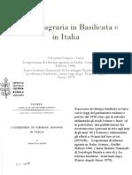 Bonifiche e Riforma in Basilicata e in Italia