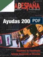 Carta d España Julio 07 Ayudas 2007
