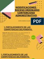 CAR - Reforma CPACA - Proceso Ordinario