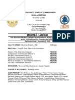 Fulton County Commission Minutes Nov 4 2020