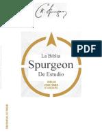 Biblia de estudio Spurgeon - COMPLETA ESPAÑOL (Traducido)