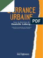 L'Errance Urbaine - Danielle Laberge Et Al. (2000) [Rue, Sans-Abri, SDF, Précarité]