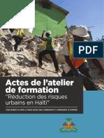UNDP-HT-GRD-ACTES Atelier Formation HAITI