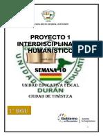 1° PROYECTO INTERDISCIPLINAR HUMANISTICO 1 SEMANA 10