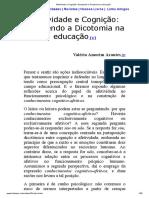 Afetividade e Cognição_ Rompendo a Dicotomia na educação