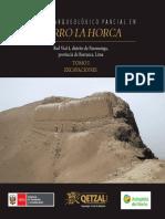 Tomo I Excavaciones Cerro La Horca