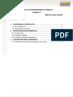 Livro texto II Gestão da Sustentabilidade do Negócio