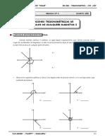 III BIM - TRIG - Guía Nº 2 - Razones Trigonométricas de Ángu