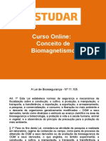 Conceito de Biomagnetismo- Apostila 4
