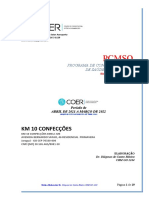 KM 10 CONFECÇÕES PCMSO 2021