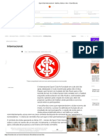 Sport Club Internacional - História, Títulos e Hino - Brasil Escola