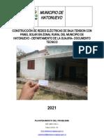 Documento Tecnico Solar