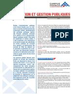 Gestion Publique Fr