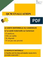 10 Qcm Evaluation Lundi