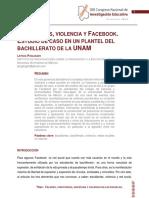 estudiantes violencia facebook