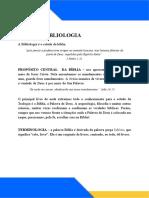 AULA 1 - BIBLIOLOGIA