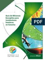 Guía de eficiencia energética para instalaciones hoteleras en Canarias