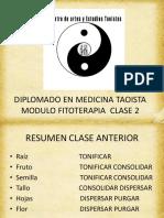 fitoterapia clase 2