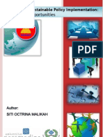 ASEAN and Its Sustainable Policy Implementation