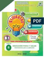 GUIA EDUCACIÓN FÍSICA Y SALUD.