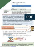 Diagnostica Del Vi Ciclo 1ero y 2do