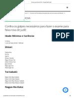 6 Exame Para Faixa ROXA - Projeto Budô Judô