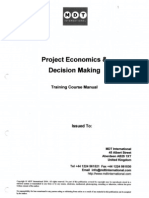 Project Economics & Decision Making