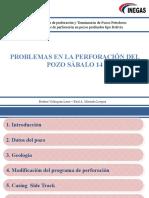 PROBLEMAS EN LA PERFORACION SBL-14