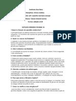 Estudo 1 Clinica Medica