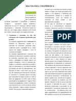 Farmacologia Colinérgica - Casos Clínicos