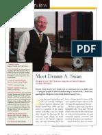 Diversity Journal   Dennis A. Swan, President and CEO – Sparrow Hospital - Nov/Dec 2010