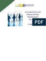 PLAN PROVINCIAL DE FORMACIÓN CPR DE CEUTA 2010-11
