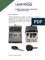 CarProg RENAULT key programmer manual