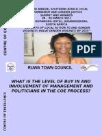 COE_presentation_Ruwa - Julieth Makombe
