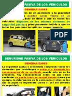 ELEMENTOS DE SEGURIDAD PASIVA
