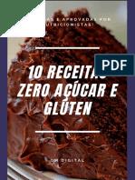 10 Receitas ZERO Açúcar e Glúten
