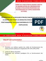 EXPOSE 4_ CREDITS DE FONCTIONNEMENT